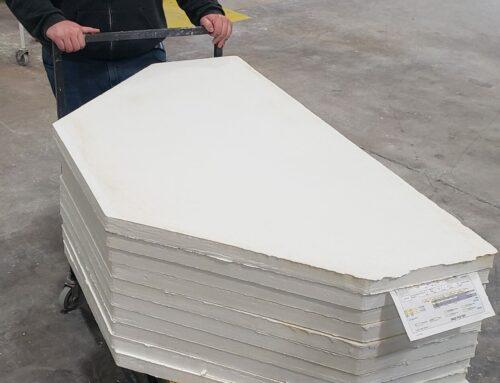 Custom Formed Alumina Silica Type AXL.