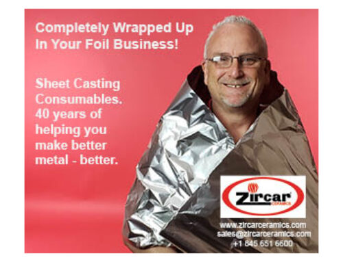 All wrapped up in your foil business – New Ad.